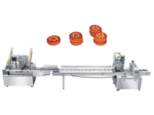Biscuit Sandwiching and Packing Machine